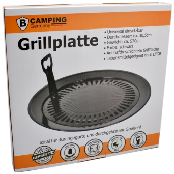 NAKŁADKA GRILOWA DO LUCHENKI 32 CM CAMPING GERMANY
